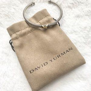 David Yurman X Station Bracelet, 4mm